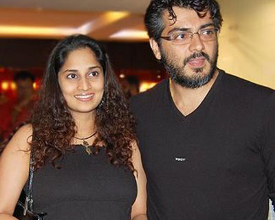 Ultimate star Ajith and Shalini