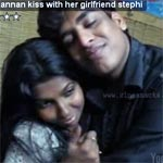 Manivannan-son-kiss-with-girlfriend