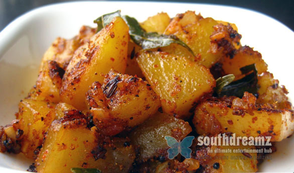 Garlic Potato Fry Spicy Potato Fry
