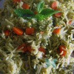 Pudina (Mint) Rice