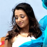 Trisha has her hands full