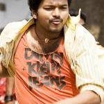 Vijay relaxing with 'Vettaikkaran'