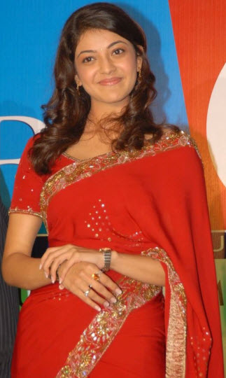 Kajol red saree Indian celebrities in saree photo gallery