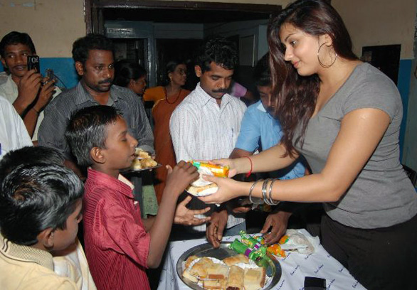 Namitha Meets India Childrens Welfare Association 8 Namitha Meets India Childrens Welfare Association Photo Gallery