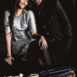 Anil and Sonam Kapoor promote Mont Blanc pens