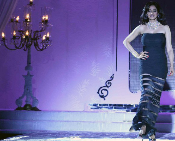 Sridevi Kapoor at Hdil India Couture Week Photo Gallery