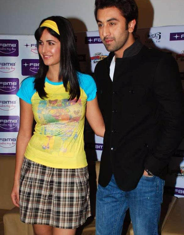 Katrina Kaif and Ranbir at Fame Malad 2 Katrina Kaif and Ranbir at Fame Malad