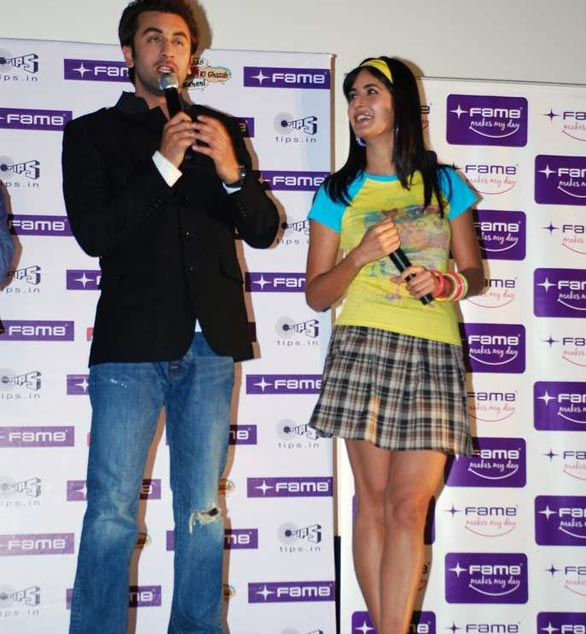 Katrina Kaif and Ranbir at Fame Malad 23 Katrina Kaif and Ranbir at Fame Malad