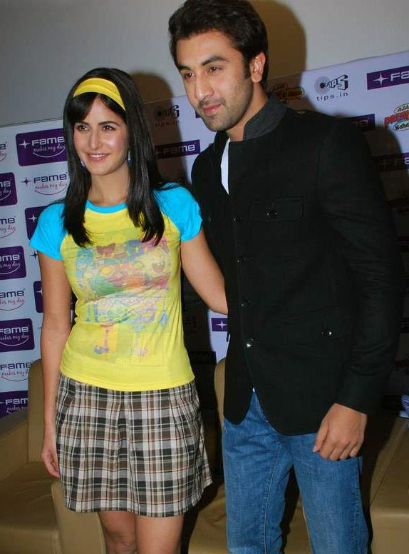 Katrina Kaif and Ranbir at Fame Malad 6 Katrina Kaif and Ranbir at Fame Malad