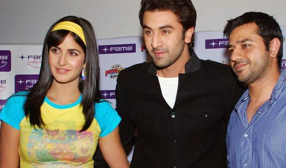Katrina Kaif and Ranbir at Fame Malad 9 Katrina Kaif and Ranbir at Fame Malad