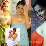 South Indian girls in towel bathing dress - Very rare pictures