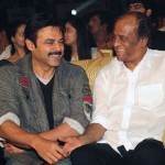 Rajinikanth attends Andhra flood relief star night!