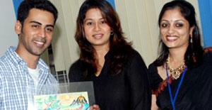 Sangeetha-Krish-With-Artistic-Kids