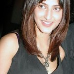 Actress Shruti hassan