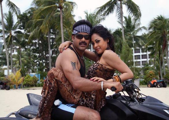 actress meenakshi hot in gangwar telugu movie still 5 Hot Meenakshi in Telugu movie Gangwar