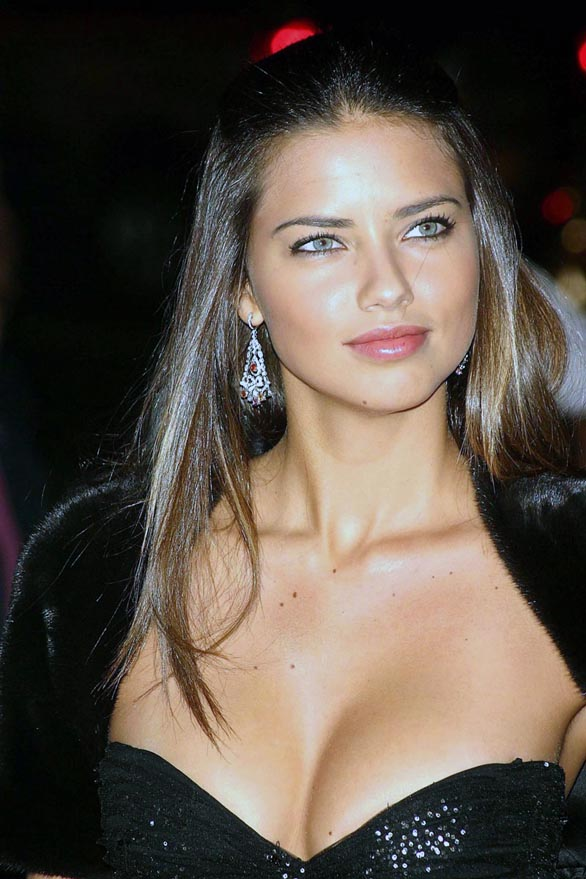 Top Most Beautiful Women In The World  - Adriana Lima