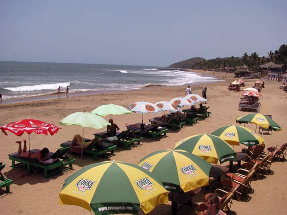 Top 10 Luxurious beaches in Goa