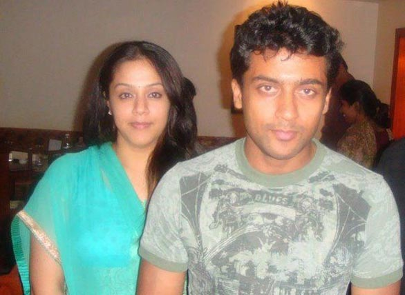 Suriya jyothika unseen Photo