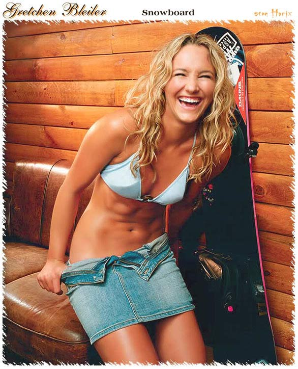 Gretchen Bleiler Top 18 Most Hot Athletes of Winter Olympics 2010