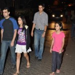 Aamir Khan Spotted with his Family - Exclusive Gallery