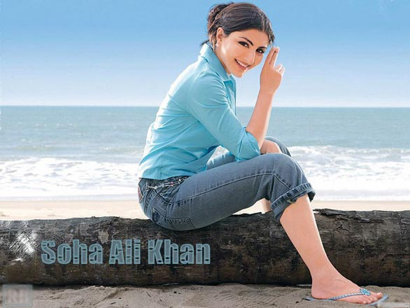 soha ali khan hot sexy and beautiful wallpapers pictures 2 Soha Ali Khan Hot Sexy and Beautiful Wallpapers