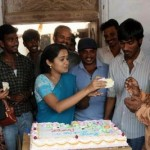 Ananya celebrates her birthday with Seedan Movie Crews