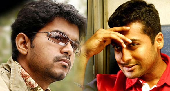 Surya And Vijay Stills Surya & vijay together