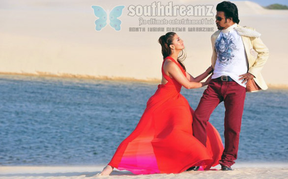 Endhiran Endhiran audio rights has sold out for Rs 7 Crores