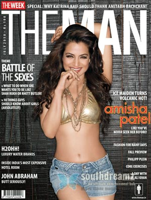 amisha theman Amisha Patel   The Ice Maiden Turns Volcanic Hot
