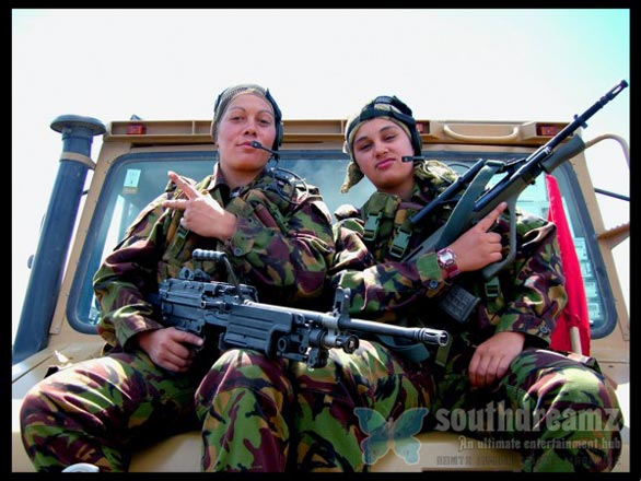 Top 50 do assassino Meninas Militar