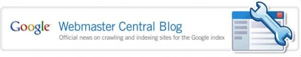 Google SiteMaps Blog 586x111 Googles Official Blogs