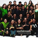 Evergreen Superstars rock together
