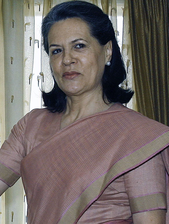Sonia Gandhi - profile, Biography information and favourites