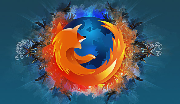 abstract firefox wallpaper Top 25 Firefox addons for better Twitter Experience