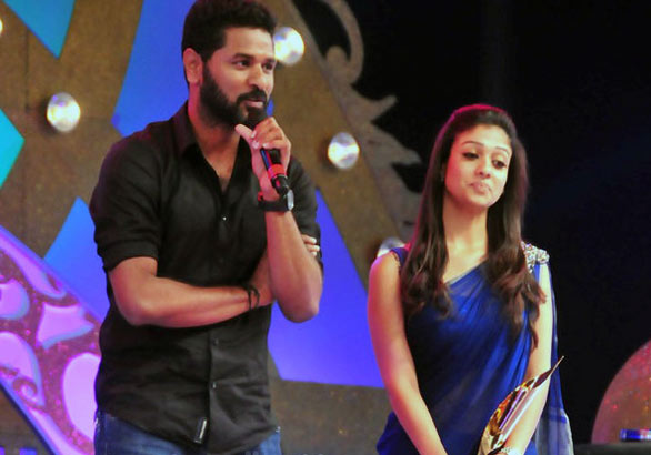 south scope awards 2010 stills photos 02 Prabhu Deva with Nayanthara @ South Scope Awards 2010