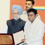 Indra Gandhi award for A.R Rahman