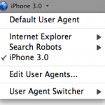 User Agent Switcher – Firefox Add-On for Developers