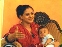 tamil actress simran Simran becomes Mom for second time