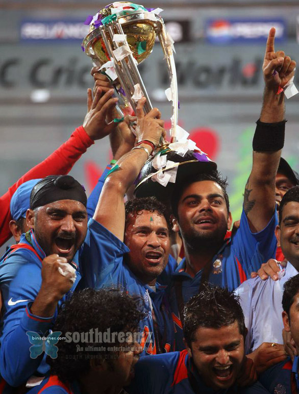 indian cricket team ICC cricket world cup 2011 champian stills 7 INDIA wins ICC Cricket World Cup 2011