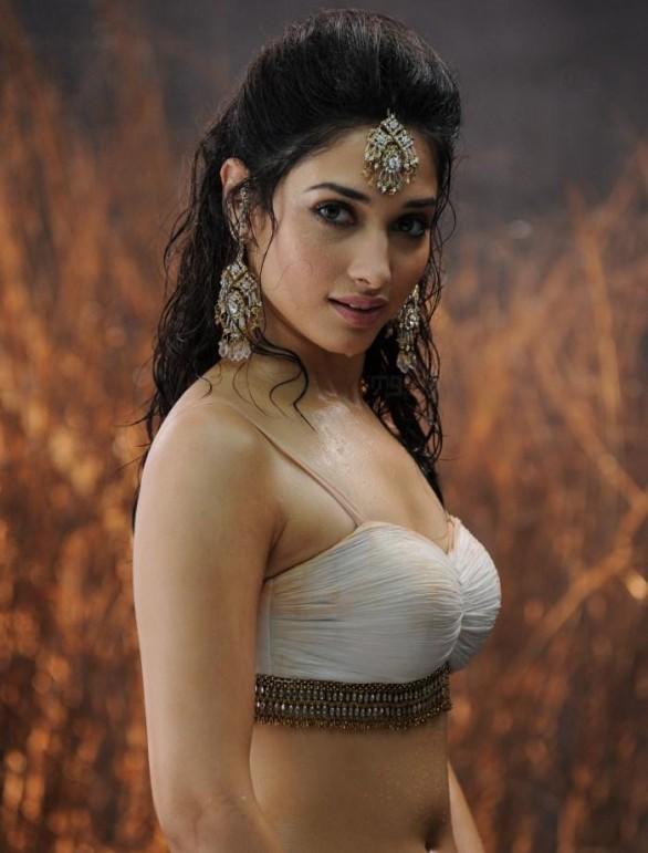 tamanna hot in badrinath8 586x771 Tamanna hot stills in Badrinath with Allu Arjun