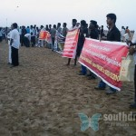 Candle light for Tamils, Marina Beach, June 26th (71)