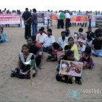 candle light vigil memory of tamils killed in sri lanka marina beach jun 26 stills 31 150x150 Candle Light Vigil   Memory of Tamils killed in Sri Lanka   Marina Beach