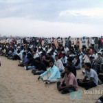 Candle light for Tamils, Marina Beach, June 26th (54)
