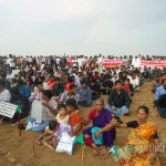 Candle light for Tamils, Marina Beach, June 26th (15)