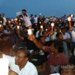 Candle light for Tamils, Marina Beach, June 26th (14)