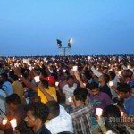 Candle light for Tamils, Marina Beach, June 26th (11)