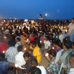 candle light vigil memory of tamils killed in sri lanka marina beach jun 26 stills 87 150x150 Candle Light Vigil   Memory of Tamils killed in Sri Lanka   Marina Beach