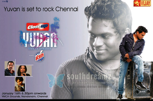 yuvan shankar raja live in concert wallpapers 08 Yuvan Shankar Raja to get married on 1 Sept
