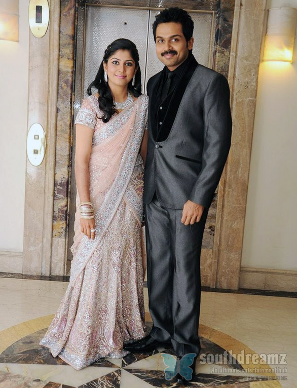 Karthi Ranjani Wedding Reception 4 Karthi Ranjani reception brings more celebrities