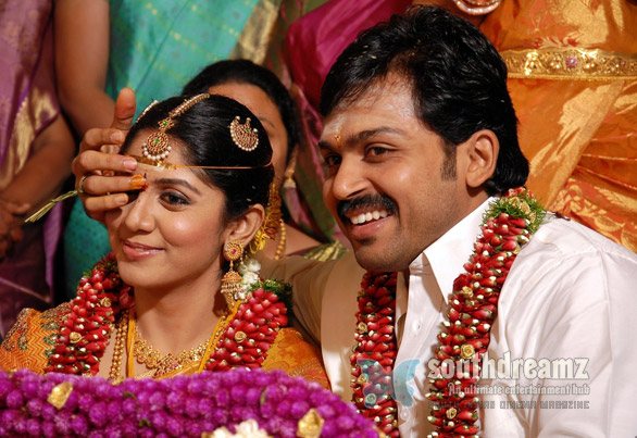 Karthi married Ranjani in Coimbatore unseen photos 2 Karthi marries Ranjani in traditional style